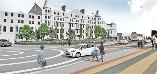 Planning application submitted for Douglas Promenade