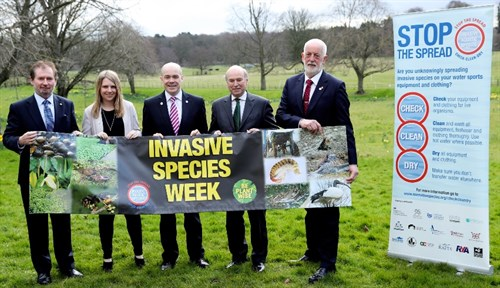 BIC ministers launch Invasive Species Week