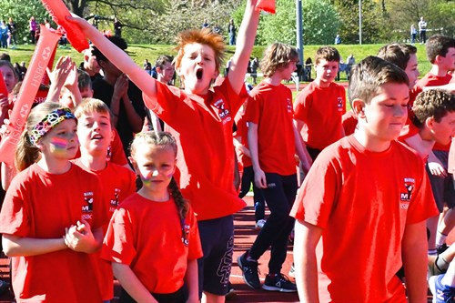 Island's biggest youth sporting event kicks-off with 1,200 strong parade