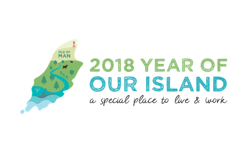 2018 Year of our Island logo