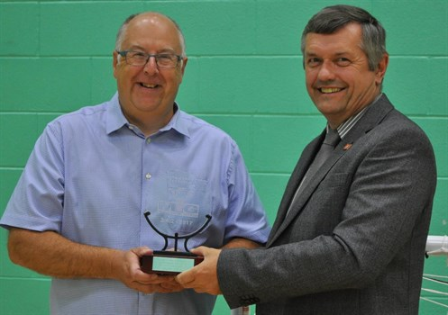 Special award for Manx Youth Games stalwart