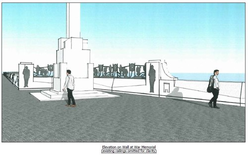 Planning application submitted to protect Douglas promenade from effects of climate change