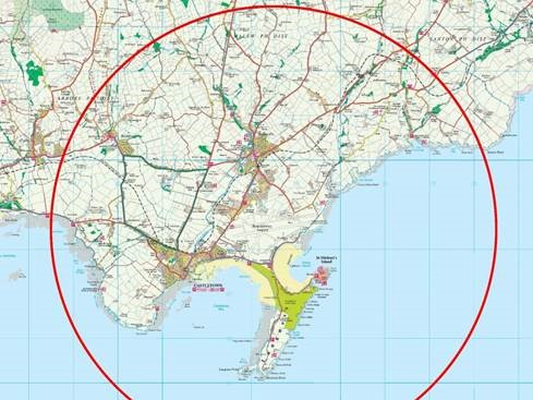 Drone Flight Zone - 5 Km Of Airport