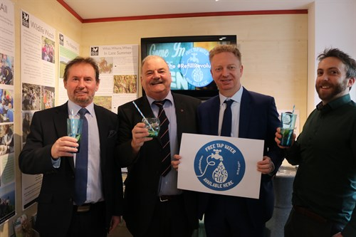 Refill Isle of Man - Ministers left to right