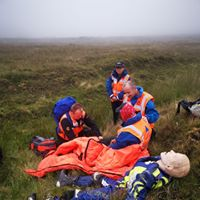 Hill search and rescue