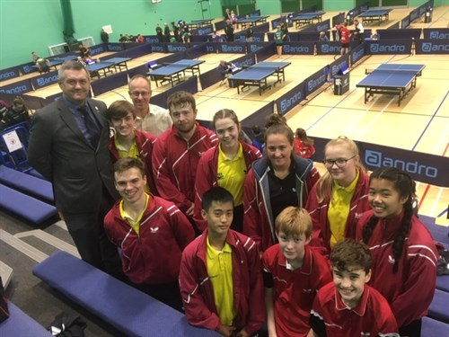 Home Nations International Table Tennis Tournament