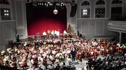 Manx Youth Wind Orchestra Christmas Show