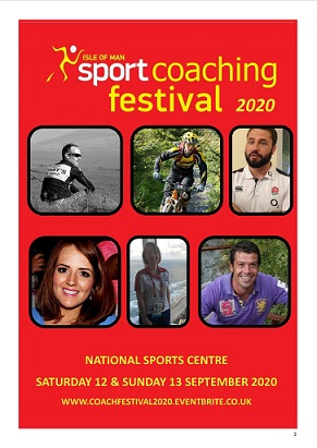 Isle of Man Sport Coaching Festival 2020 Poster