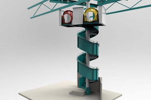 NSC flume 3D design