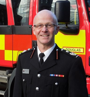 Chief Fire Officer Kevin Groom