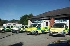 Ramsey ambulance station
