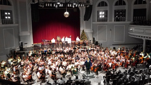 Manx Youth Orchestra Christmas concert